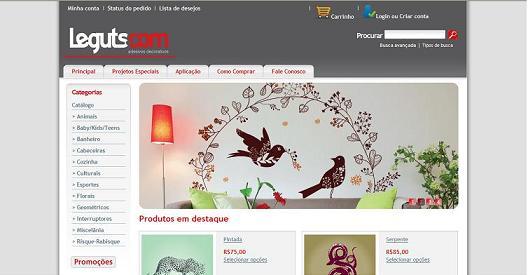 Loja Virtual Leguts.com