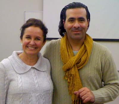 Denise Bergamin (IED) e Luis Otávio Lopes (eComm)