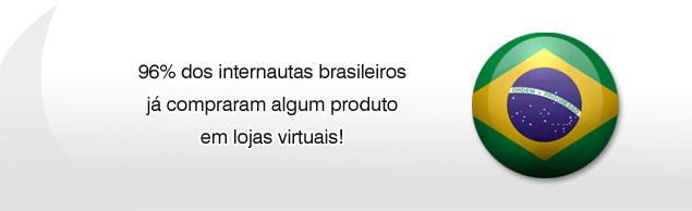 96% dos internautas brasileiros já compraram pela internet