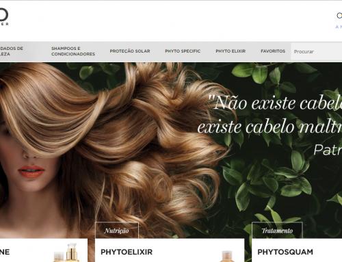Apresentamos o site da Phyto Brasil, desenvolvido pela eComm