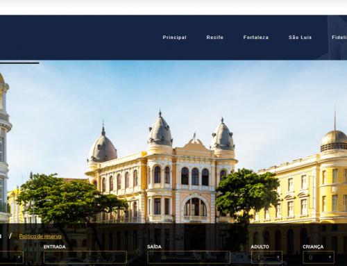 Conheça o site e o aplicativo da Rede Luzeiros de Hotéis, desenvolvidos pela eComm
